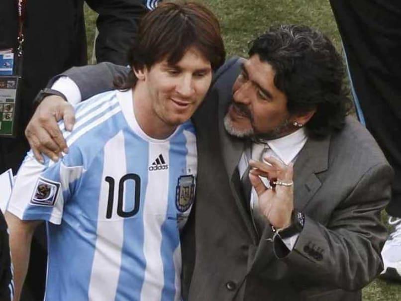 Lionel Messi's 'Retirement' From Argentina Team 'Staged': Diego Maradona