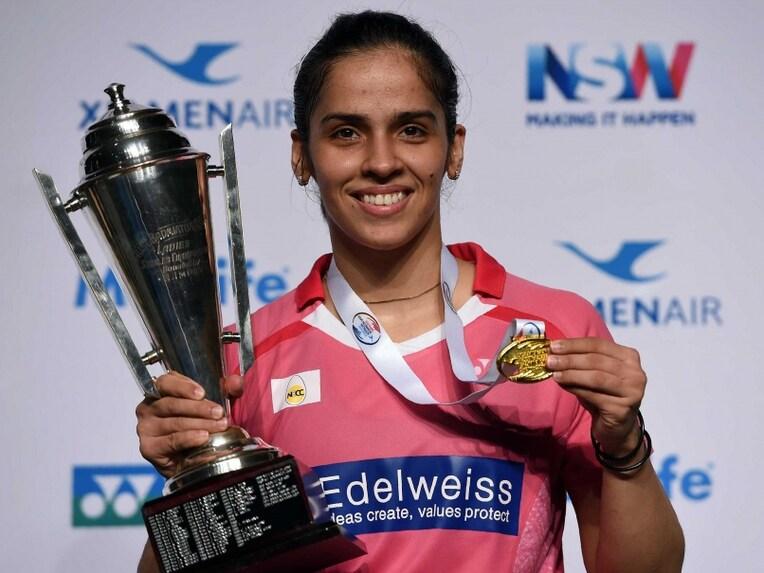 saina nehwal clinches australian open title beats sun yu