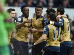 Danny Welbeck, Alex Iwobi Guide Arsenal F.C. to Win vs Everton F.C.