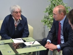 Vladimir Putin Can be Compared to Winston Churchill: Bernie Ecclestone