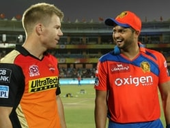 IPL Live Score Qualifier 2: GL vs SRH - Raina vs Warner in Sudden Death