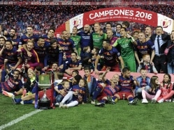 FC Barcelona Beat Sevilla to Clinch 28th Copa Del Rey Title