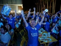 Party Time In Bangkok As Leicester City Inch Closer To EPL Title