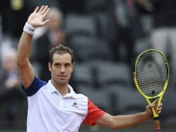 Gasquet Provides Cheer For French Fans With Win Over Nishikori