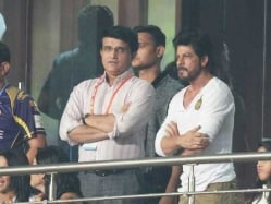 IPL Brings KKR Boss Shah Rukh Khan, Ex-Captain Sourav Ganguly Together