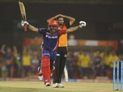 IPL: DD Ride On Nair's Knock To Keep Play-Off Hopes Alive, Beat SRH