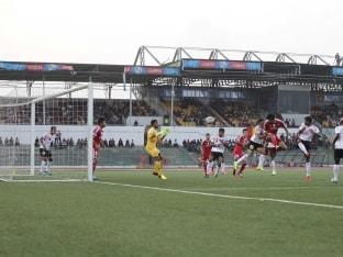 Shillong Lajong Beat East Bengal 2-1 in Federation Cup