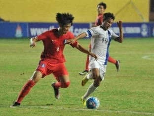 India Draw With South Korea in AIFF Youth Cup, Finish Last