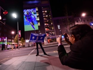 Euphoria in Streets of Leicester as Outsiders Make Premier League History