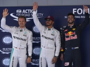 Formula One: Lewis Hamilton Outpaces Nico Rosberg For Pole in Spanish GP