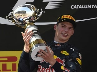 Max Verstappen Becomes Youngest Formula One Winner With Victory In Spanish Grand Prix