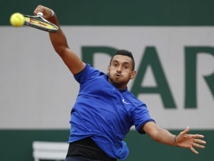 Nick Kyrgios Shouts At Ball Boy, Argues With Umpire On Day One of French Open