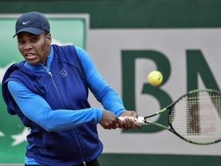 Serena Williams Relaxed About French Open Title Defence