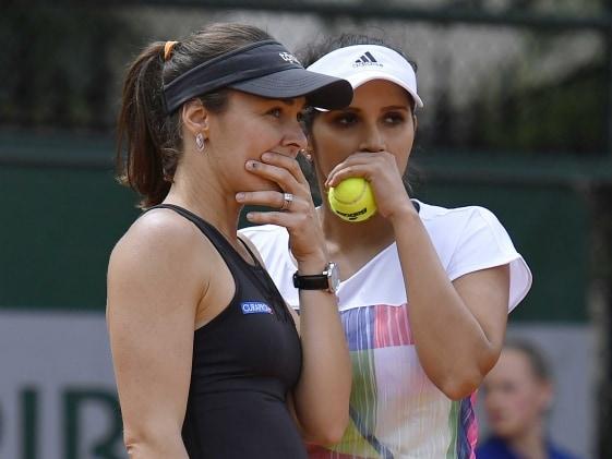 French Open: Mirza-Hingis Crash Out, Bopanna, Paes Enter Quarterfinals