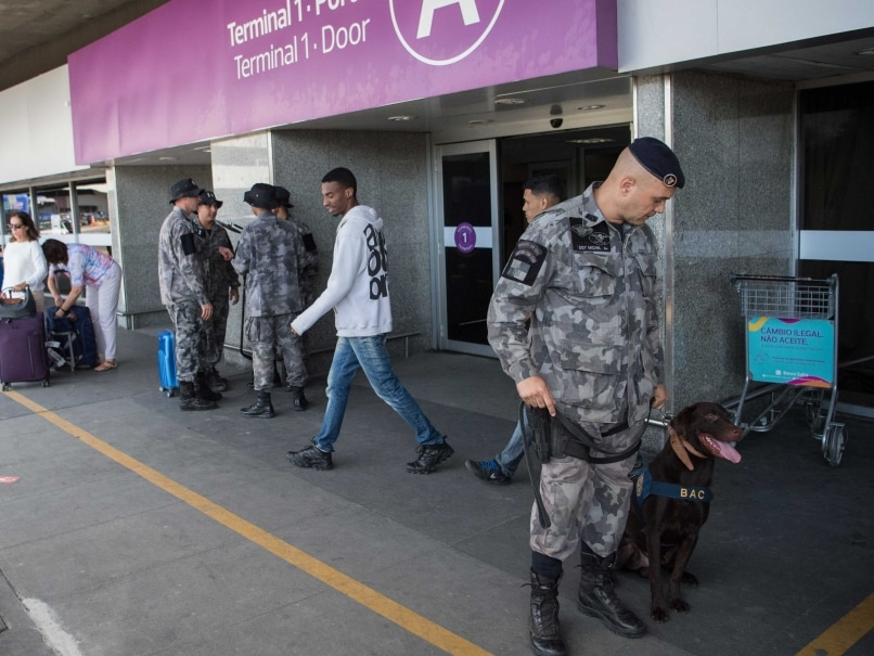 Rio Olympics: Police Dogs Aid Security Forces In Thwarting Potential Terror Attacks