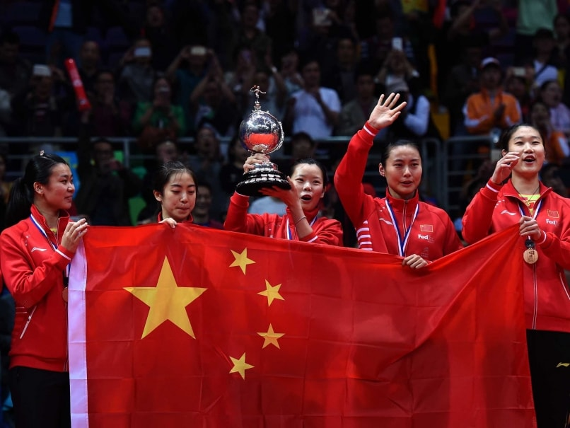 China Dominate South Korea to Win Uber Cup Final