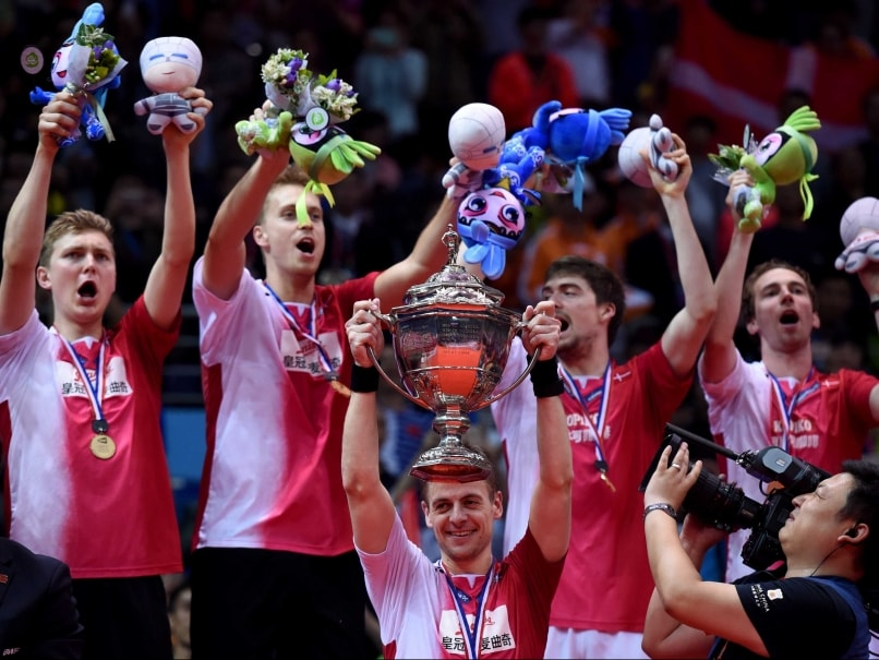 Denmark Beat Indonesia to Win First Thomas Cup Title