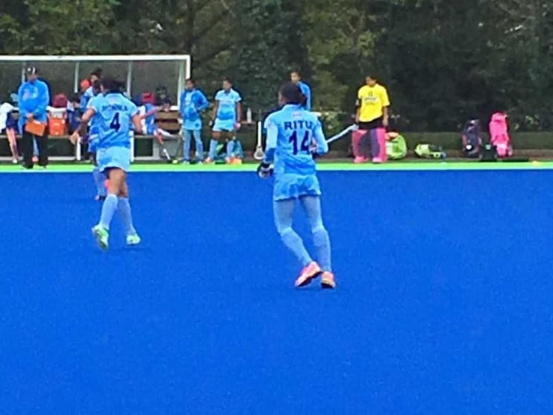 India Women's Hockey Team Suffer Second Loss, Lose 1-2 to Great Britain