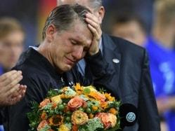 Emotional Bastian Schweinsteiger Bids Goodbye to Germany Career