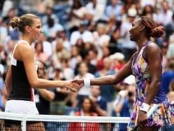 US Open: Karolina Pliskova Topples Venus Williams, Wawrinka Advances