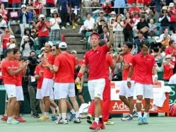 Kei Nishikori Helps Japan Return to Davis Cup Elite