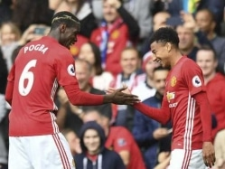 Manchester United Thrash Leicester City 4-1 as Paul Pogba Opens Account