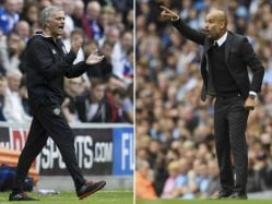 Premier League: Guardiola and Mourinho Resume Hostilities In Derby Duel