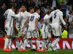 Cristiano Ronaldo, Alvaro Morata Rescue Real Madrid From Sporting Upset