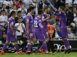 La Liga: Cristiano Ronaldo-Less Real Madrid Net Record 16th Straight Win