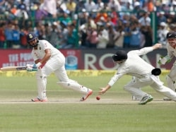 1st Test: India Lose 3 Wickets But Consolidate Lead at Lunch on Day 4