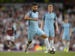 Premier League: Sergio Aguero to Miss Manchester Derby After Three-Game Ban