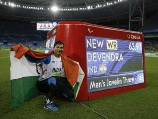 After Rio Paralympics Gold, Devendra Jhajharia Aims For Treble in Tokyo 2020