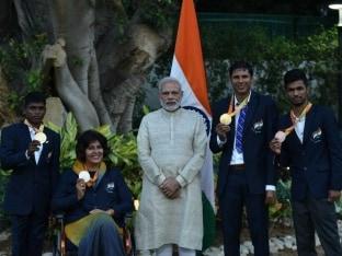 Prime Minister Narendra Modi Lauds Rio Paralympians Upon Return