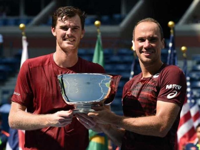 Jamie Murray-Soares win US Open men's doubles title
