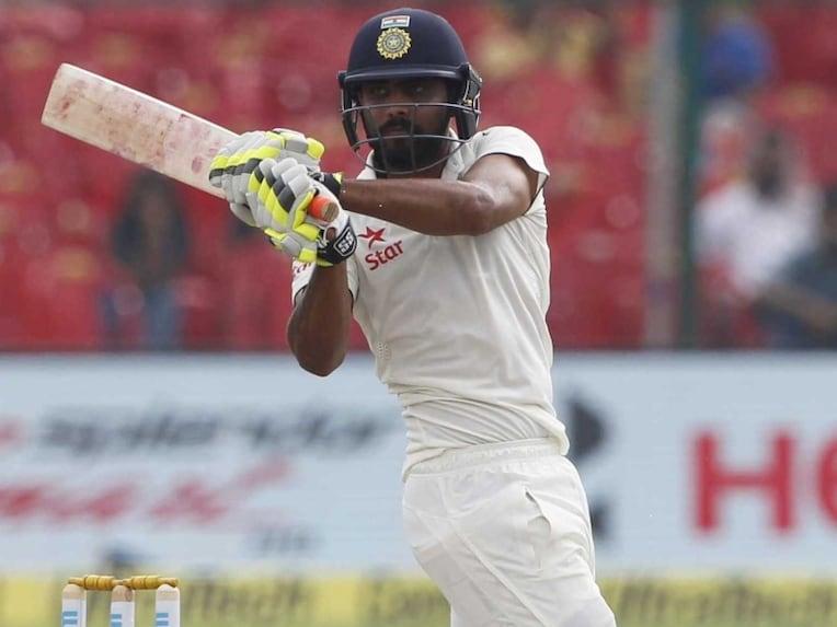 Ravindra Jadeja batting Tests