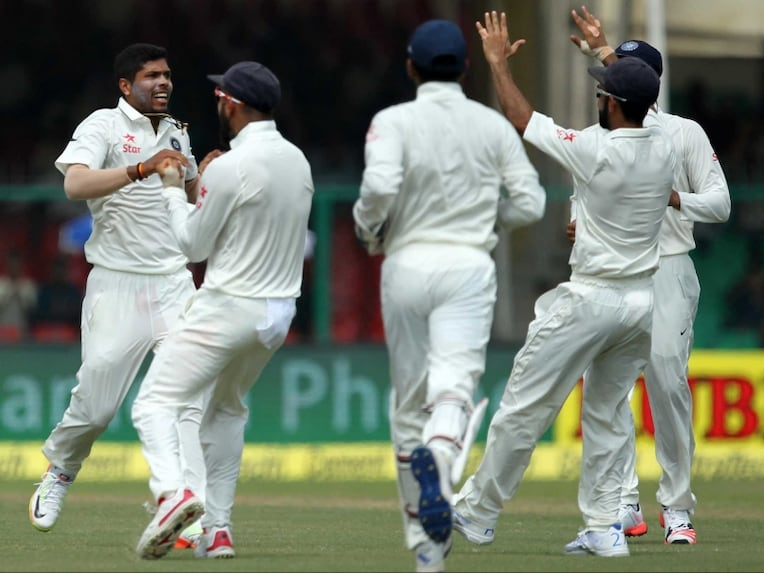 Umesh Yadav Celebrates 2309