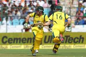 2nd ODI Live Cricket Score: Phillip Hughes and Aaron Finch