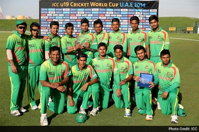 bangladesh win icc under 19 world cup plate championship. Black Bedroom Furniture Sets. Home Design Ideas