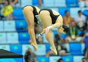 China zero in on elusive diving clean sweep