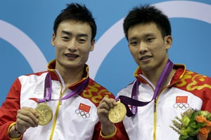 London 2012 Diving: China wins men's 3m synchro diving gold