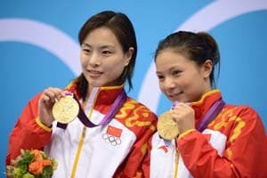London 2012 Diving: China win women's synchro 3m springboard gold