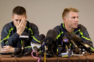 David Warner and the charms of the bottle