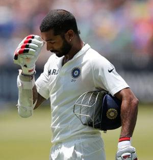 Live cricket score: India vs South Africa 2nd Test - Shikhar Dhawan
