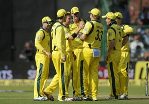 7th ODI Live Cricket Score: Australian team