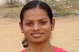 A file picture of Indian sprinter Dutee Chand.