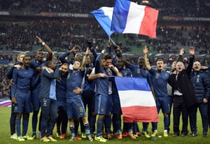 Stunning turnaround takes France to World Cup