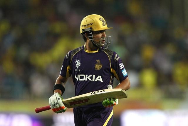 Live cricket score, Gautam Gambhir