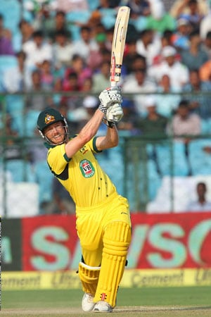 2nd ODI Live Cricket Score: George Bailey