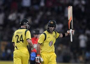 7th ODI Live Cricket Score: Glenn Maxwell