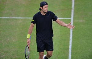 Defending champion Tommy Haas into Halle last-eight